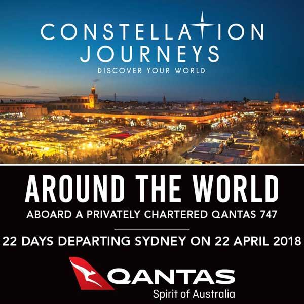 Constellation Journey Around The World - April 2018